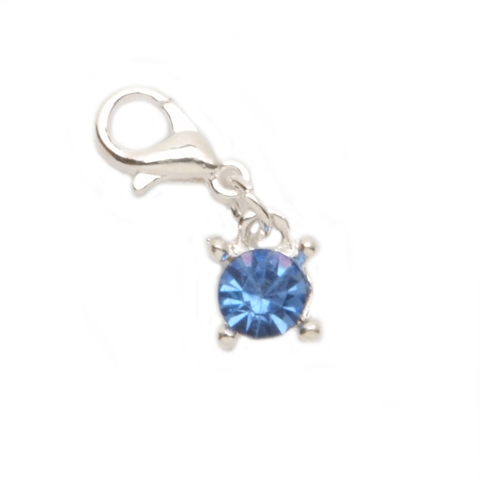 March Aquamarine Charm