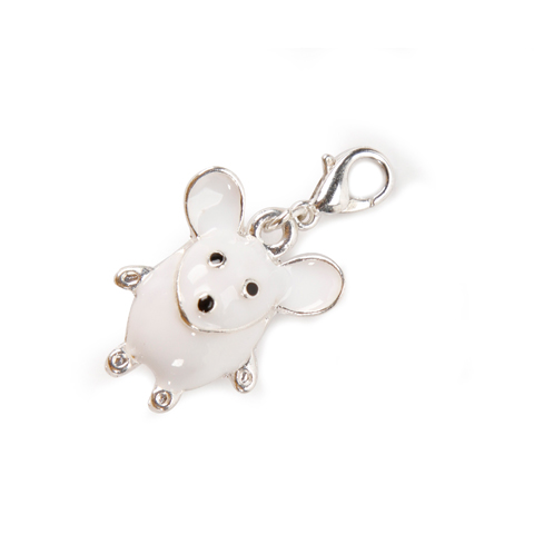 Cartoon Mouse Charm