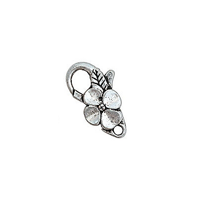 Flower Lobster Clasp
