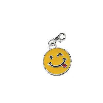 Silly Wink Face Charm