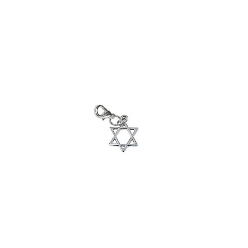 Star of David Hanukkah Charm