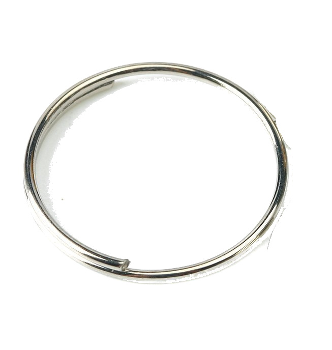 Round Edged Split Circular Ring Clip