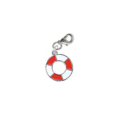 Red Life Preserver Charm